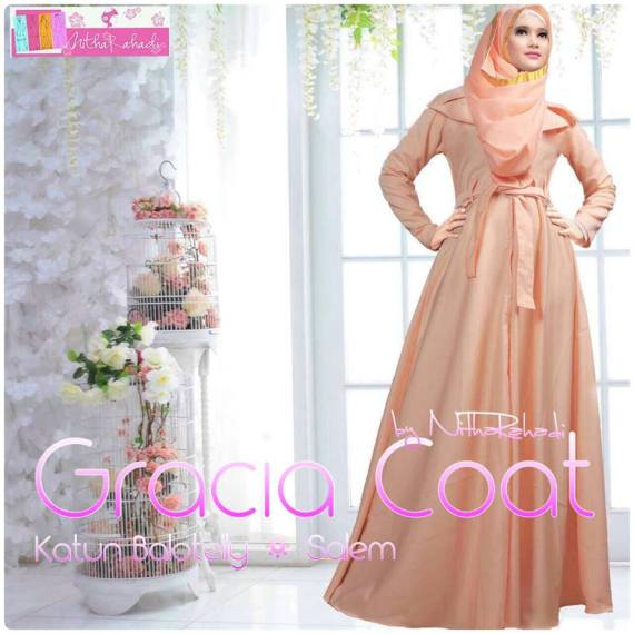gracia coat by nitha rahadit, khusus jual coat, coat panjang, jaket elegan, coat bahan bolatelly, coat bahan jacguard, coat premium, coat seragam keluarga, coat couple, coat jumbo, coat anak anak, coat murah, coat elegan, coat terbaru