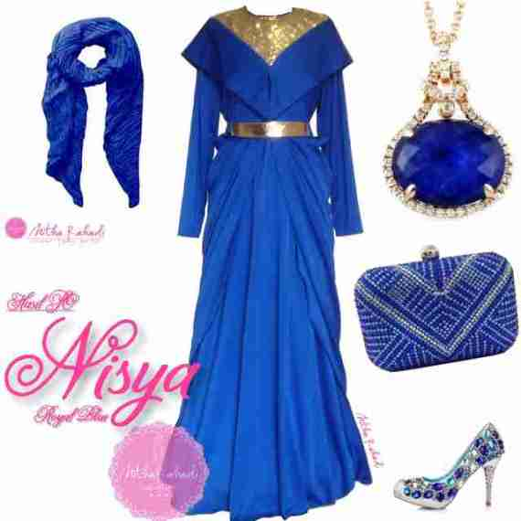 Baju Lebaran dan Baju Pesta Seragam Keluarga Nisya Dress by Nitha Rahadi 12